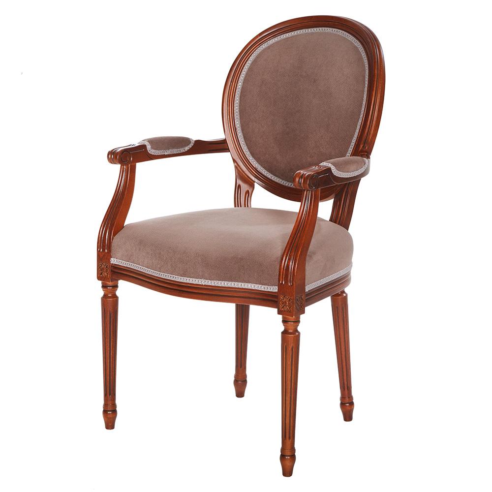 Scaunul din lemn cu stofa, scai sau piele naturala pentru casa CHANCE