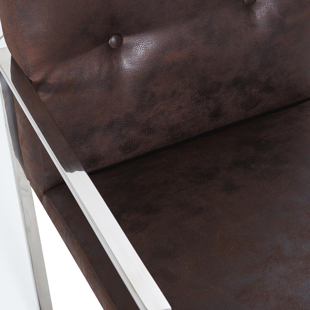Scaun cromat cu stofa, stofa imprimanta sau scai pentru acasa FROZEN