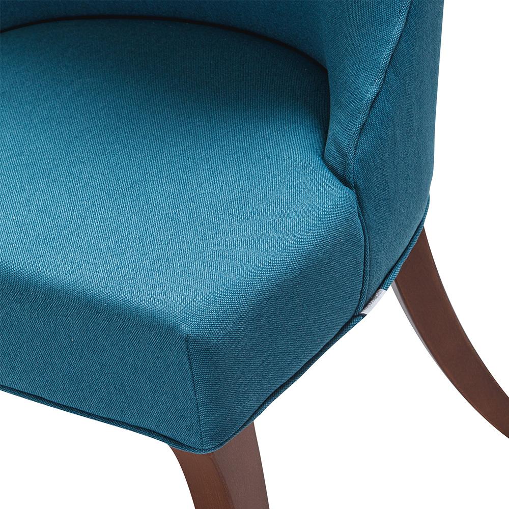 Scaunul din lemn cu tapiterie din stofa, stofa imprimata, scai sau piele naturala RYAN