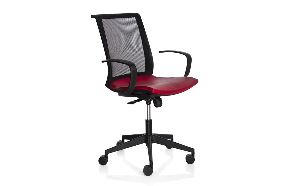 Scaunul pentru birou NEXT cu stofa, scai sau piele